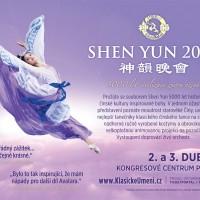 Pozvánka SHEN YUN 2013 Praha