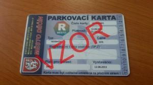 parkovaci karta