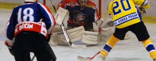 V rámci devětatřicátého kola druhé hokejové ligy zajížděli hokejisté Děčína podruhé za sebou do Prahy, tentokráte na pražskou Kobru. Zatímco v Letňanech v sobotu vsítili dvouciferný počet branek, v Braníku […]