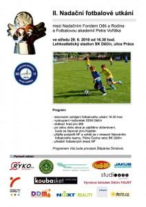 II. Nadační fotbalové utkání - tým NF proti FAPV