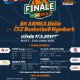 Válečníci jsou již po třetí v řadě ve finále Kooperativa NBL! Duel mezi BK ARMEX Děčín – ČEZ Basketball Nymburk se uskuteční ve středu 17. 5. 2017 na zimním stadionu […]