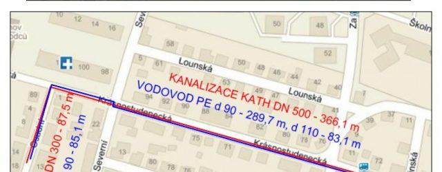 V městské části Děčín – Letná je v Osadní ulici kanalizace z betonu vejčitého profilu 400/600 mm (z r. 1974) a v ul. Krásnostudenecké z betonu vejčitého profilu 300/450 mm […]