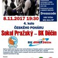 Po zápasech Kooperativa NBL a utkáních evropského HeliosAlpe Adria Cup čekají na basketbalisty Děčína i duely v Českém poháru mužů. Válečníci byli stejně jako další týmy z nejvyšší soutěže nasazeni […]