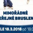 Vzhledem k rozlosování čtvrtfinále play – off II.NHL, je pro návštěvníky zimního stadionu připraveno mimořádné veřejné bruslení, a to na neděli 18. 3. od 18:00 hod.! Vstupné Dospělí: 30,- Kč […]