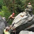 České Švýcarsko, 20. 7. 2018 –Pracovníci skalní čety při Správě Národního parku České Švýcarsko dne 18. června 2018 stabilizovali pomocí dubových klínů viklan nad přístupovým žebříkem na skalní hrádek Šaunštejn […]