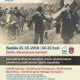 Oslavte spolu s nám 100. výročí vzniku československého státu. Na chvíli se zastavte a užijte si kouzlo momentu, kdy se ocitnete před sto lety, v době vzniku první republiky. Ochutnáte, […]